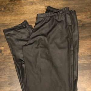 Pants - Leather like leggings, perfect condition
